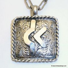 ❦ Kim Klass Design: Custom Brand Pendants