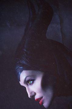 Angelina Jolie as 'Maleficent'