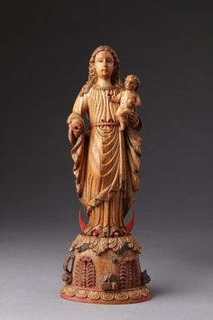 Finch & Co - Indo-Portuguese Goa Carved Ivory of the Madonna