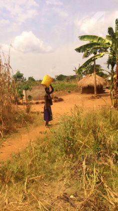 Lira, Uganda Carrying water