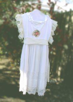 Plus Size Bohemian Wedding Dress Eco Friendly Mori girls by KheGreen