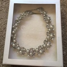 Mariell Pearl Necklace Necklace worn once only. Perfect condition Jewelry Necklaces