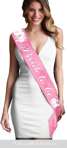 Bride To Be SASH Hen Night Accessoires Rose Parti ne Bride To Be Cadeau Argent