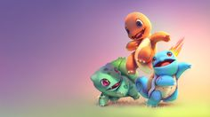 [Fanart] Basic Pokemons on Behance