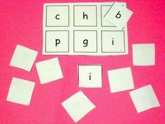 Make learning fun: literacy bingo / lotto game