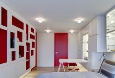 Camera singola in residenza privata, NY | Arch. Leopoldo Rosati + Armonia Interni Srl