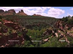 Take the Sedona Drone Tour!! Breathtaking views of places around #Sedona, #Arizona.   Come for a Visit! www.sedonavacations.com See you soon!