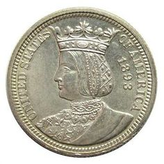 Rare, Better Grade 1893 Silver Columbian Exposition Commemorative Quarter - Only 24,214 Minted  http://www.propertyroom.com/l/l/9484327