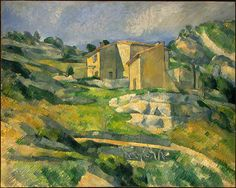 Houses in Provence by Paul Cezanne (1880)