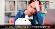 Opportunità di guadagno per studenti universitari