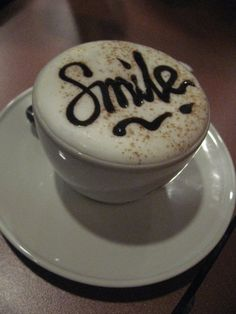 #smile #coffee