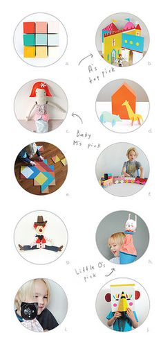 Mer Mag shares her top DIY toys for kids to make and give. See more at www.smallforbig.com #holidays #Christmas #toys