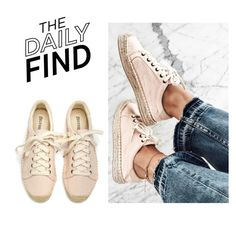 """The Daily Find: Soludos Sneakerdrilles"" by polyvore-editorial ❤ liked on Polyvore featuring DailyFind"