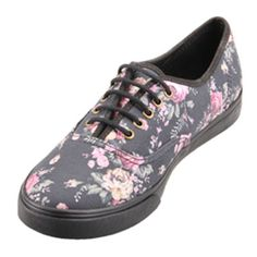 56091f9669 Classic Vans Authentic in a slim Lo-Pro silhouette with beautiful floral  print