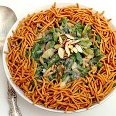 Oriental Green Bean Casserole