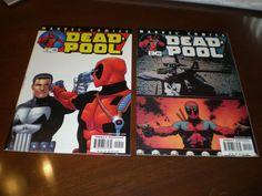 Deadpool 54, 55, (2001), Punisher, Marvel, Movie Coming Soon C13