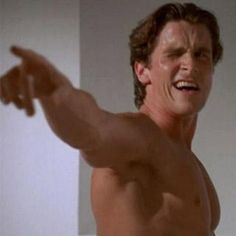 One of the many awesome scenes from American Psycho