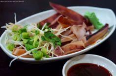 #五味魷魚,熱天 #小菜。@賓國切仔麵 #晚餐 #台灣 #Squid #salad with sauce #TGIF #food #Taiwan