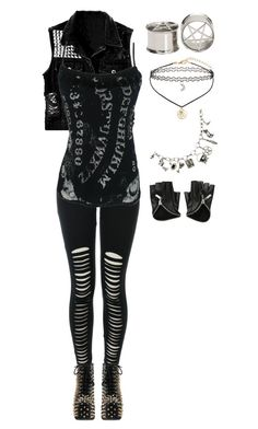 Untitled #1181 by bvb3666 on Polyvore featuring Jeffrey Campbell and Miss Selfridge