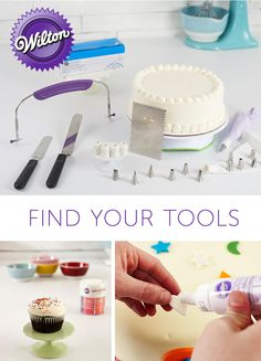 Bring the wonder of Wilton to your cake decorating toolkit! Find everything you need at the prices you deserve, and use these quality tools to decorate captivating cakes, sweet treats and more.
