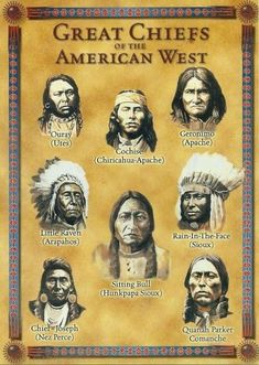 Postcard Great Chiefs of the American West Native American Indians Oversize MNT for Like the Postcard Great Chiefs of the American West Native American Indians Oversize MNT ? Native American Warrior, Native American Images, Native American Symbols, American Indian Art, Native American History, American Indians, Sioux, Eskimo, Nativity