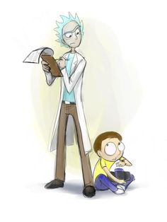 What are you doing down there, Morty? by jameson9101322 on DeviantArt