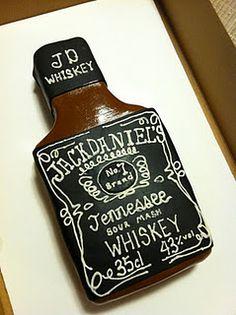 Jack Daniels Cake...hmm jacks birthday?