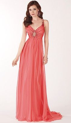 2012 Prom Dresses Alyce Paris Silky Chiffon Prom Dress 6746 at frenchnovelty.com