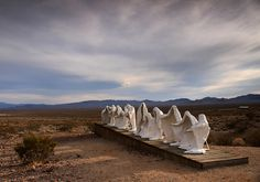 Last Supper, Ryholite ghost town, Nevada, USA (by bertdennisonphotography).