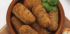 Crocchette di lupini e patate impanate