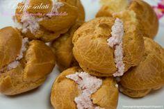 Senza glutine...per tutti i gusti!: Bignè salati alla mousse di ricotta e mortadella