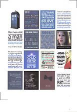 Pre-Cut Planner Stickers - Doctor Who Quotes