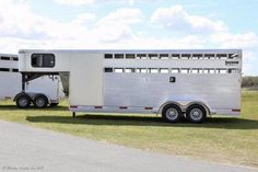 2017 Shadow 16' Stock with Dressing Room Gooseneck Horse Trailer in London, OH | Columbus Shadow 16' Stock with Dressing Room | Coughlin Shadow