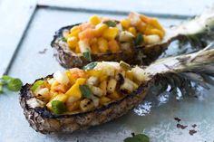 Grillet ananas Frisk, Baked Potato, Risotto, Mango, Potatoes, Baking, Ethnic Recipes, Food, Manga