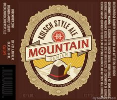 mybeerbuzz.com - Bringing Good Beers & Good People Together...: Breckenridge Brewery Mountain Series - Kolsch Styl...
