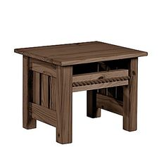 This End Up: Cottage End Table sporting our NEW Espresso finish!  Wouldn't this make a nice addition to your favorite room?  Furniture for your life!