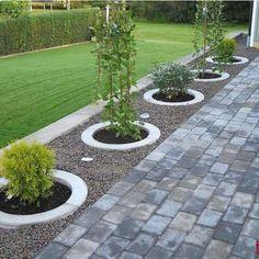 77 Beautiful Side Yard And Backyard Gravel Garden Design Ideas (32)