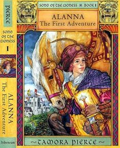 Tamora Pierce this includes everything she writes. I have never been disappointed with any of her books