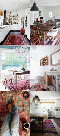 I want all of these rugs!