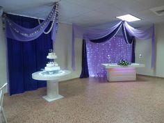 white n purple wedding