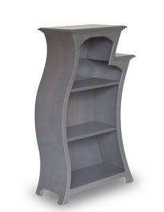 Bookcase No.2 by dust furniture* in Slate Stain