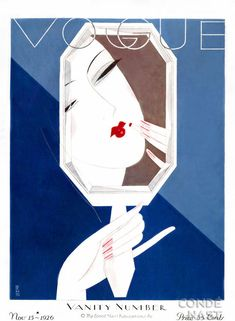 November 1926. Vintage Vogue covers #Vintage #Vogue #covers