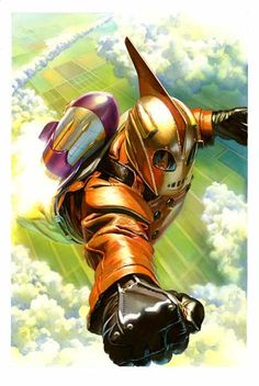 Rocketeer Alex Ross.