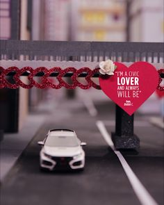 Love will always find a way when you're in a Honda. Where will you take your Honda Civic Type R this Valentine's Day?