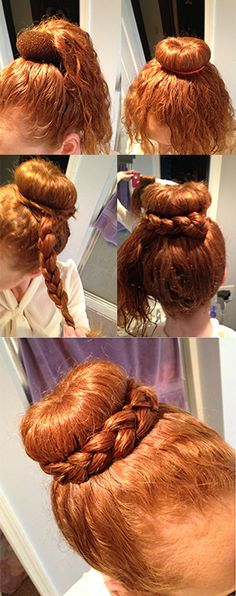 How to Make a Braided Bun - FPgirl Style Mag