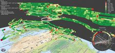 Stacking-Based Visualization of Trajectory Attribute Data Map Design, Cartography, Christian, Rostock, Christians