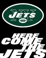 J.E.T.S-Jets, Jets, Jets......To bad we are done and we just started the season ;(...I'm still trying to convince my husband to become a Giants fan
