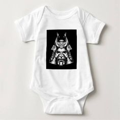 (Japanese Samurai Mask Infant Creeper) #Manga#Armor#Arts#Asian#Avatar#Background#Black#Bushido#Clip#Clipart#Demon#Design#Etching#Face#Fighter#Head#Helmet#Icon#Illustration#Japan#Japanese#Martial#Mask#Military#Ninja#Oriental#Samurai#Samuri#Shogun#Style#TATOO#Tattoo#Traditional#Vector#Warrior#White#Woodblock is available on Funny T-shirts Clothing Store   http://ift.tt/2aUvjMb