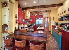 Southwest Decor- the red is just so much fun! | Home in AZ ...