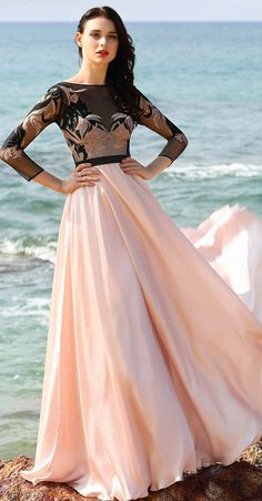 eDressit A Line Pink Prom Dress Evening Gown